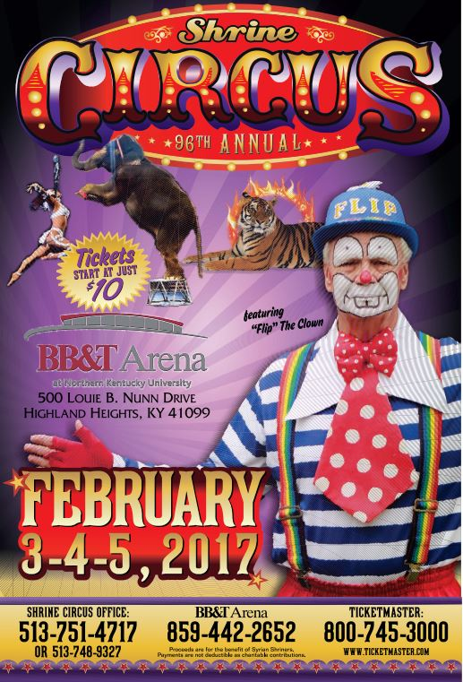 Shrine circus coupons